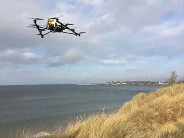 Oil Spill Response UAV service