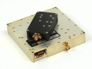 Secure Wireless Secondary Link UHF FTS for unmanned systems