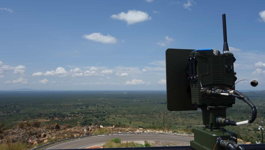 Secure wireless drone data link