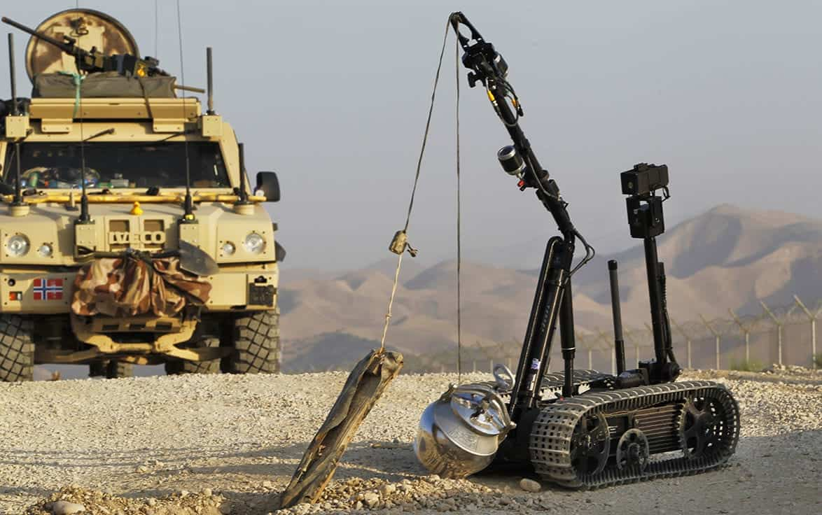 US Army TALON UGV