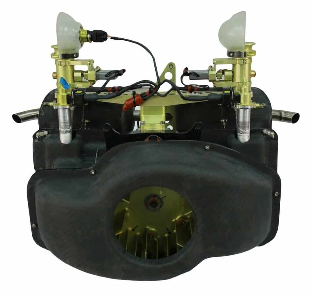 UAV-170 4-stroke gasoline engine