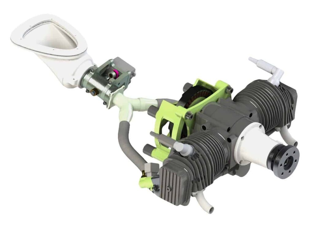 UAV-85 4-stroke gasoline engine