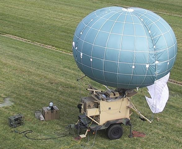 US Army WASP tactical aerostat