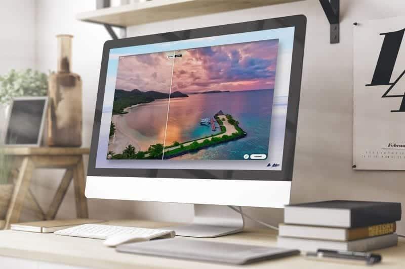 AirMagic drone photo editing software