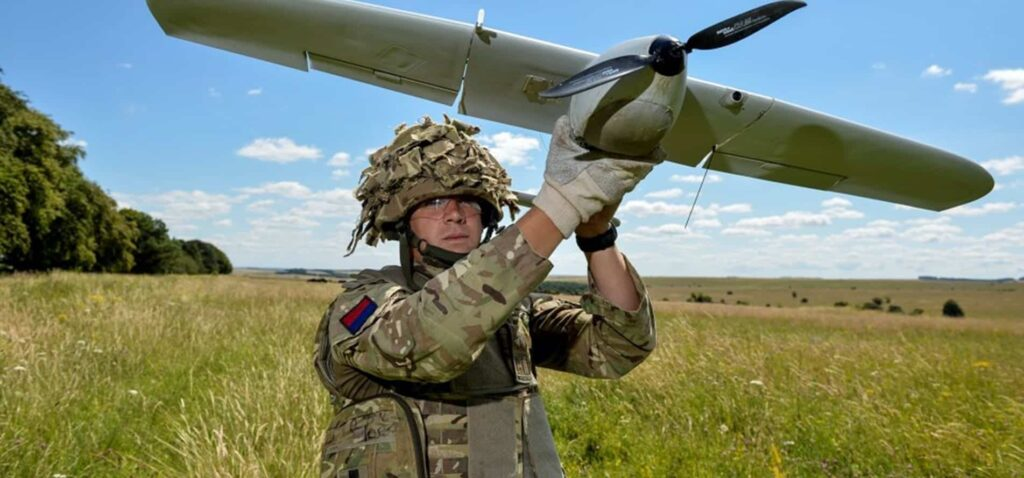 British Army UAV