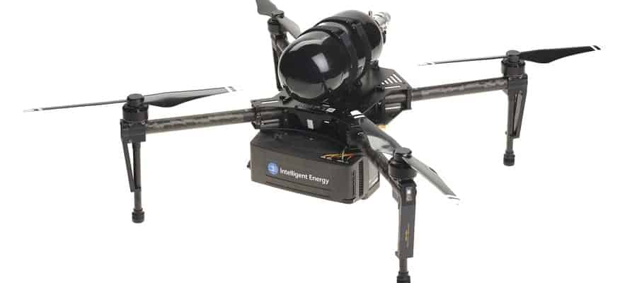 Intelligent Energy fuel cell for drones
