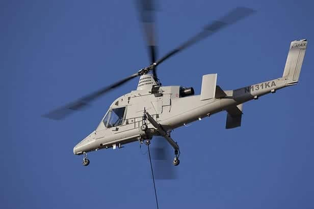 K-MAX unmanned helicopter