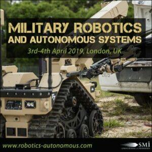 Military Robotics and Autonomous Systems 2019