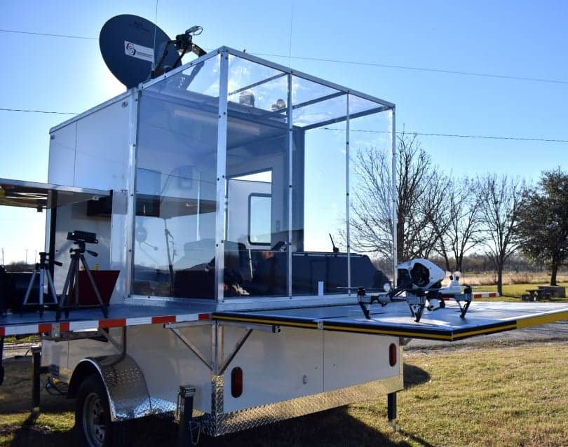Mobile Emergency Response Center – Unmanned Aerial System Carrier