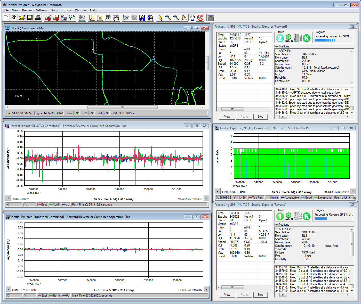 NovAtel Inertial Explorer software