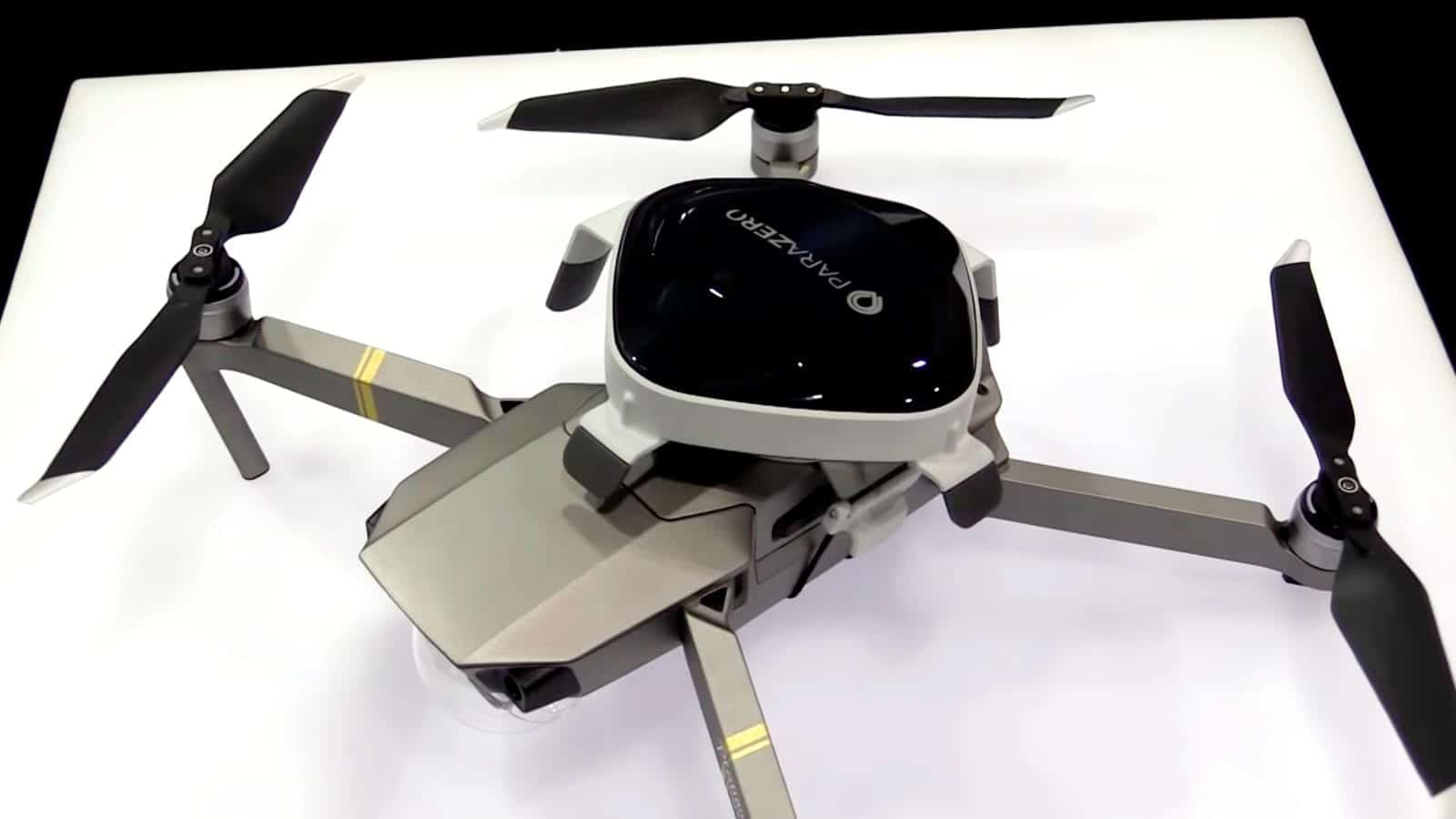 ParaZero SafeAir drone parachute system