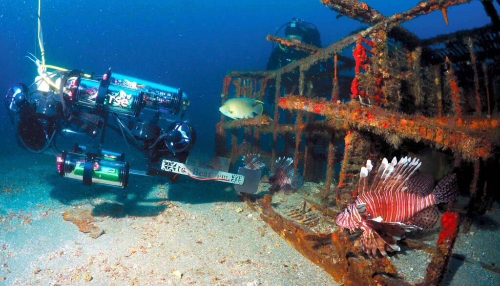 RSE lionfish capture UUV