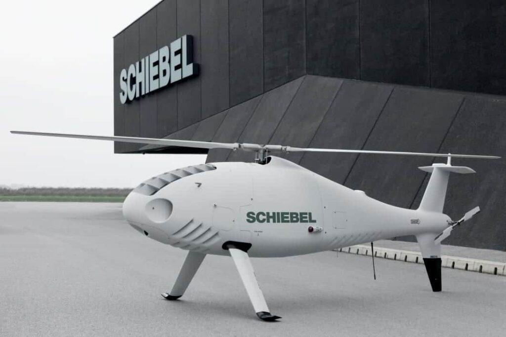 Schiebel rotary UAV