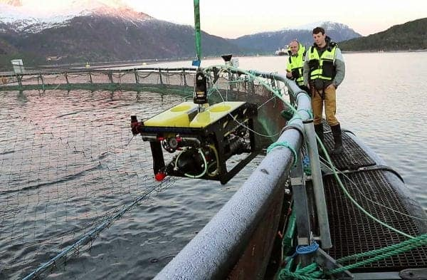 Sonardyne ROV for aquaculture