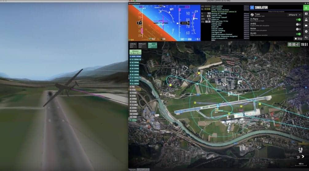 UAVOS UAV Simulator