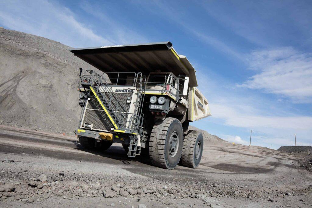 Autonomous Solutions mining truck