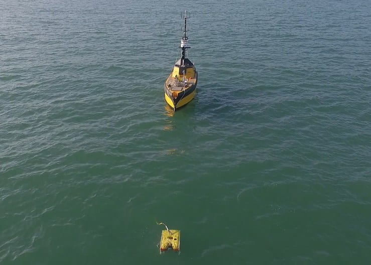 C-Worker 7 ASV with ROV