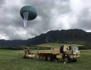 Tethered aerostats for military applications