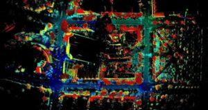 UAS LiDAR mapping imagery