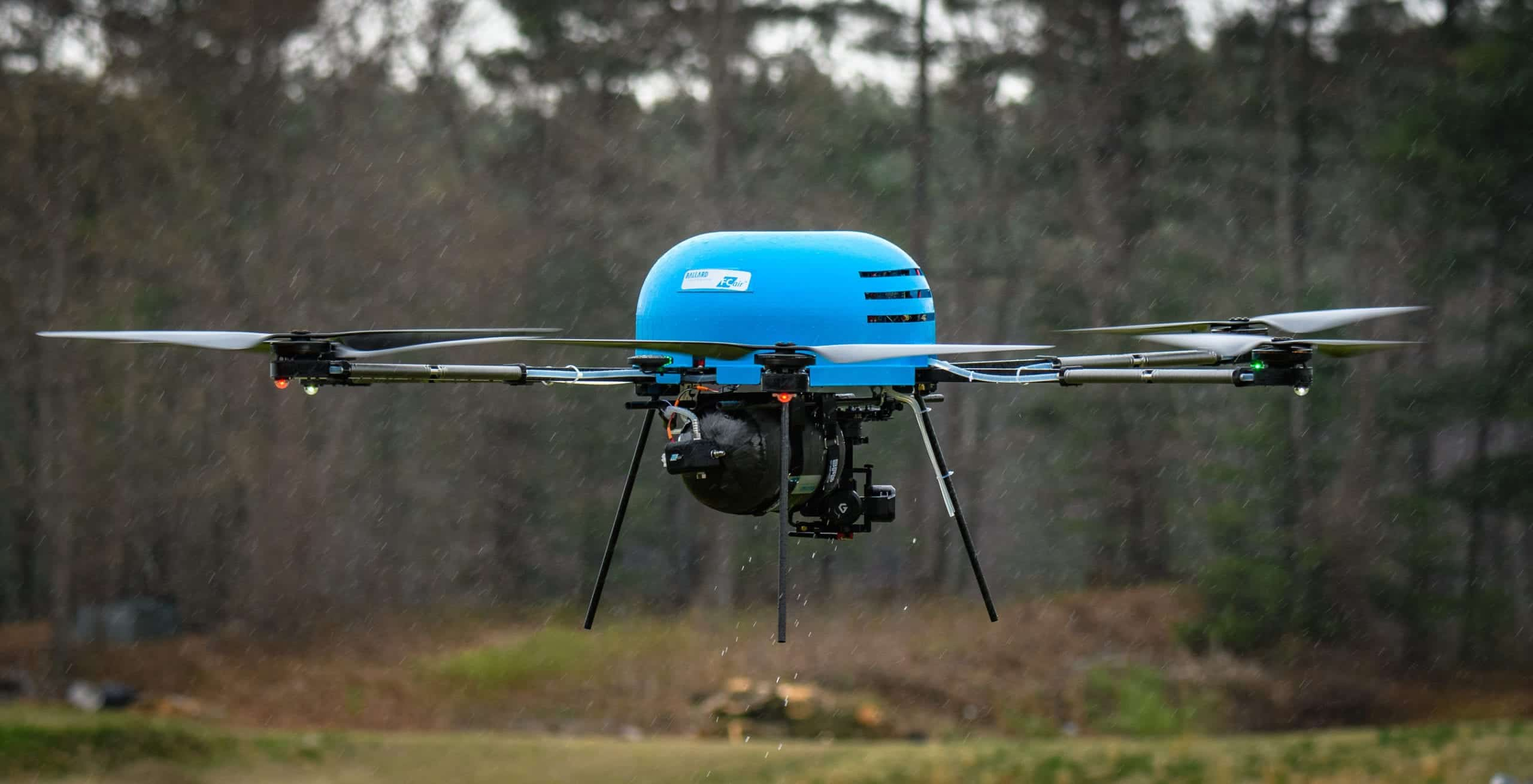 UAV powered by Ballard fuel cell system   Unmanned Systems
