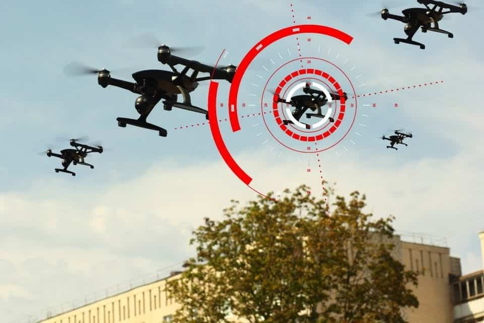 UK MoD counter-drone technology competition