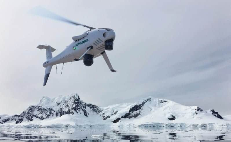CAMCOPTER S-100 UAS in Arctic