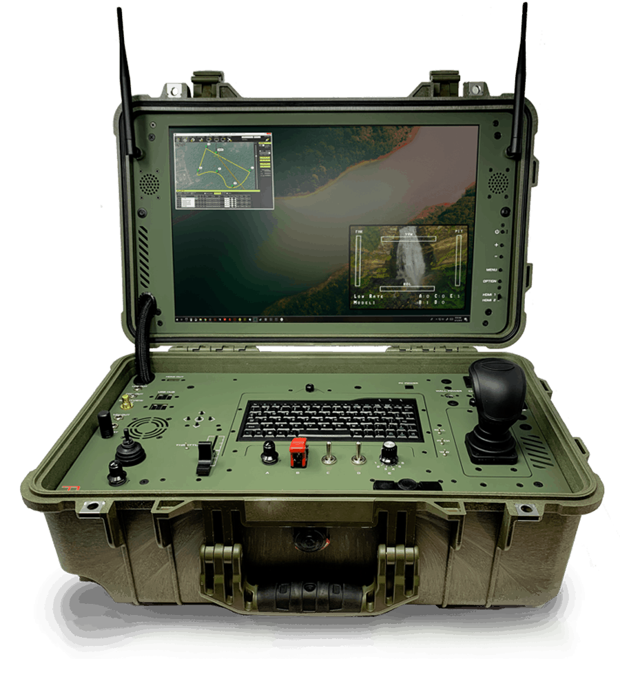 Green Single Screen UAV GCS