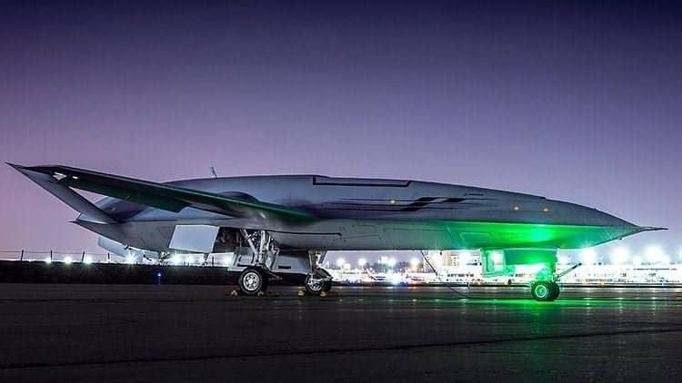 MQ-25 unmanned tanker UAV