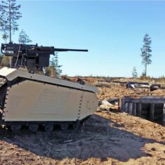 BVLOS Combat UGV Demonstrated During Live Fire Exercise