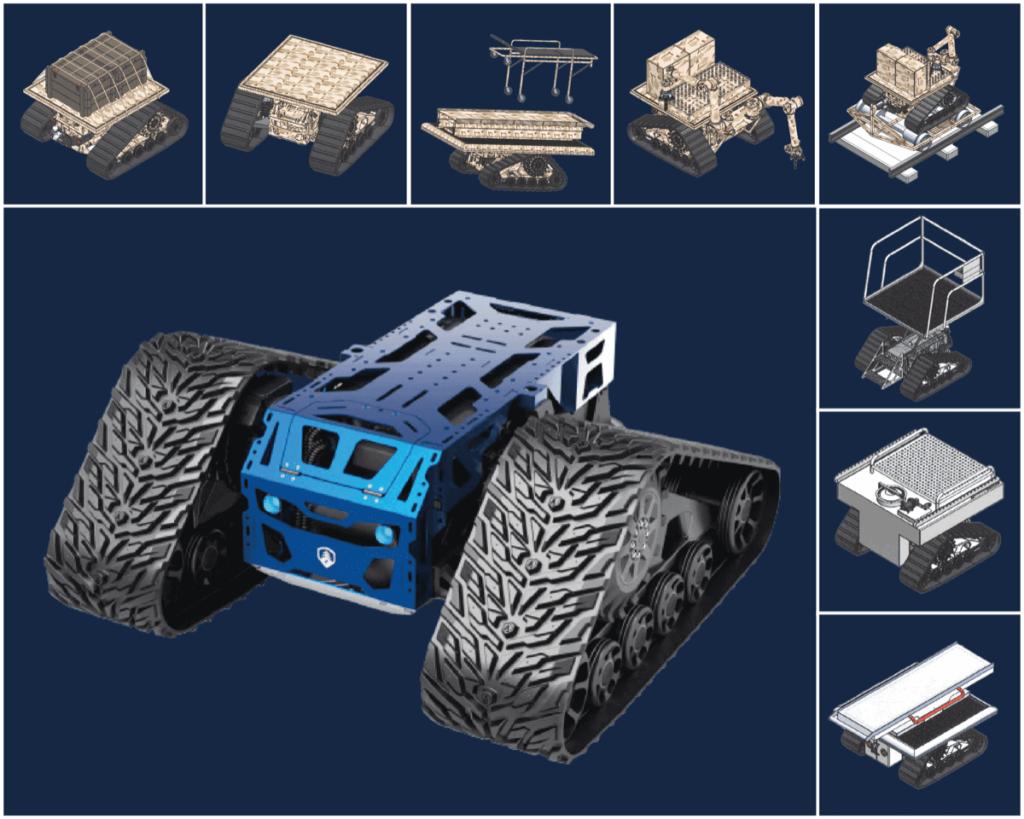 Robotic UGV Platform