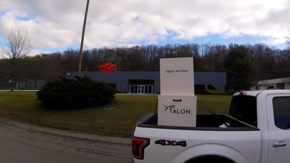 Talon drone launch and recovery