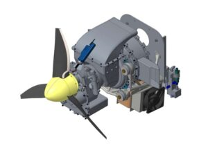 UAV Turbines micropropulsion system