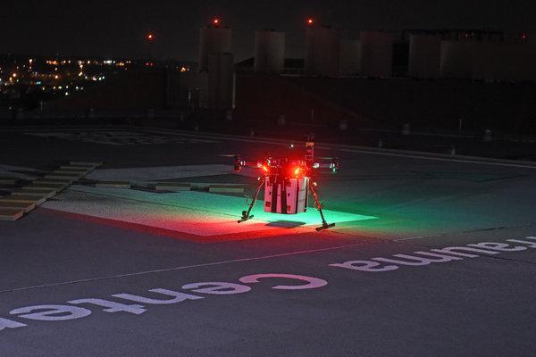 UMD drone organ delivery