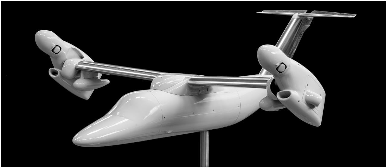 CRP 3D Printed Composite Airframe