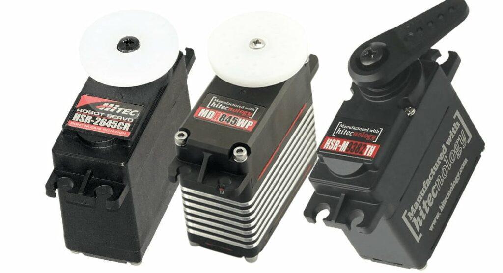 Continuous Rotation Series Servo Actuators