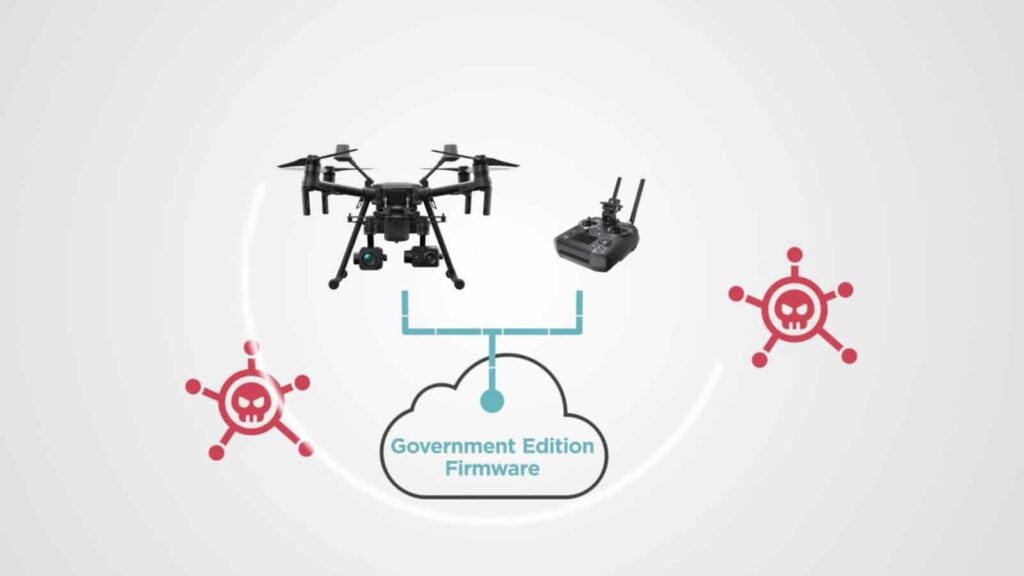DJI Government Edition drone solution