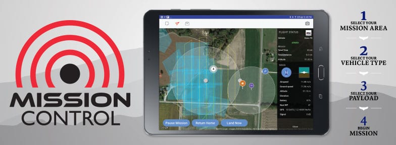 HCS Mission Control - Drone Mapping App