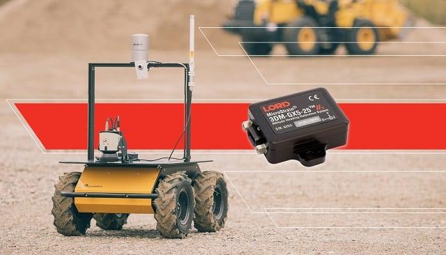 LORD inertial sensors on Clearpath Robotics platform
