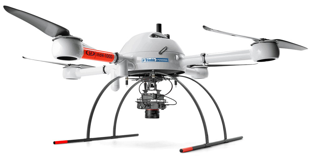 Microdrones mdMapper1000DG Aerial Surveying and Photogrammetry VTOL UAV