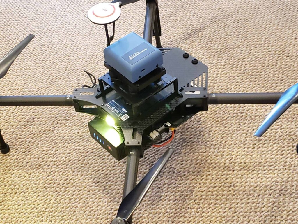 OleaVision360 drone guidance system