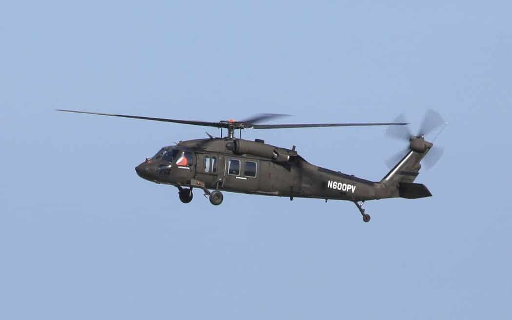 Optionally Piloted Black Hawk helicopter