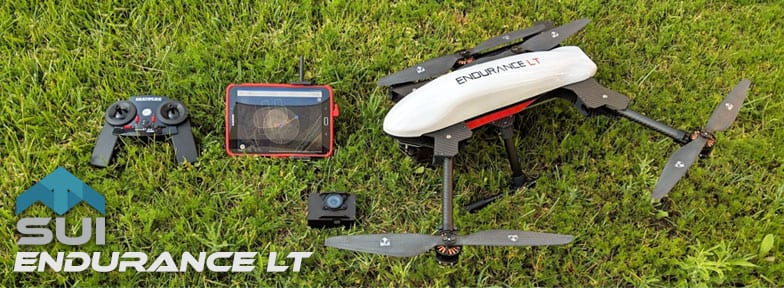 SUI LT VTOL Endurance Quadcopter Mapping Drone