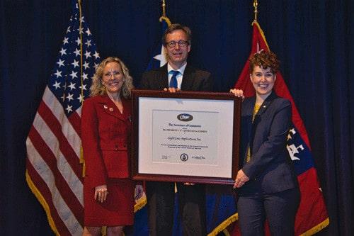 Sightline Applications Presidential export award