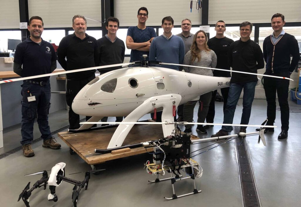 UMS SKELDAR UAS training