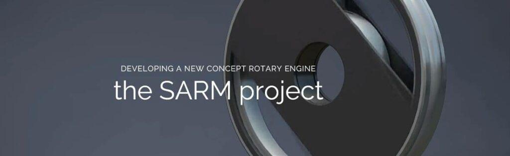 Concept rotary UAV engine