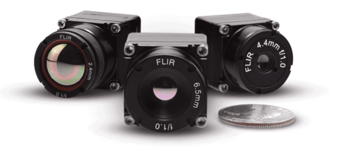FLIR Boson longwave infrared thermal camera cores