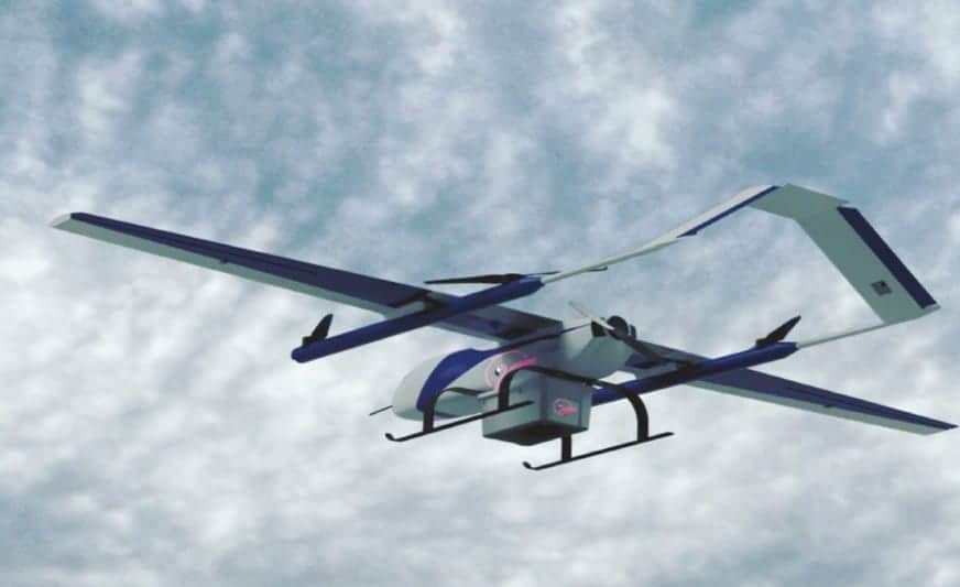 Fli Drone delivery UAV