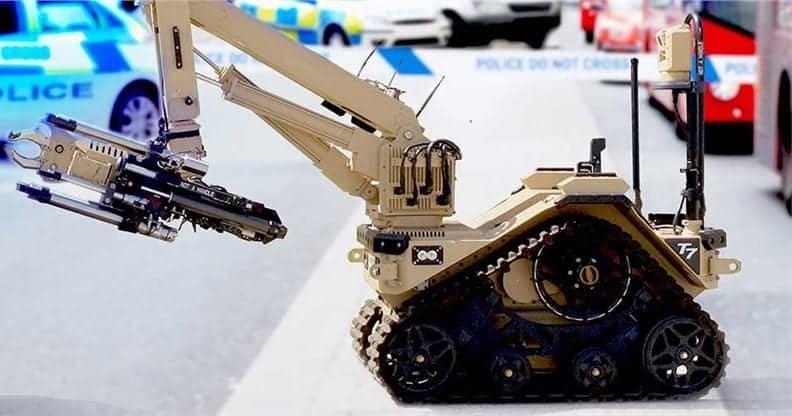 L3Harris EOD robot