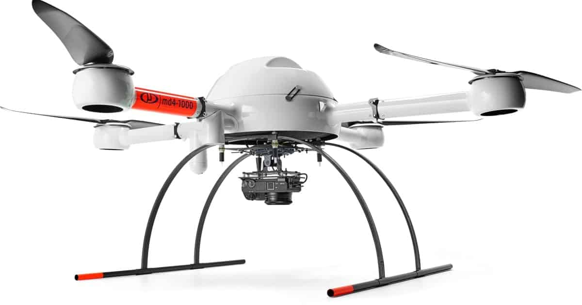 Microdrones forensic mapping UAV