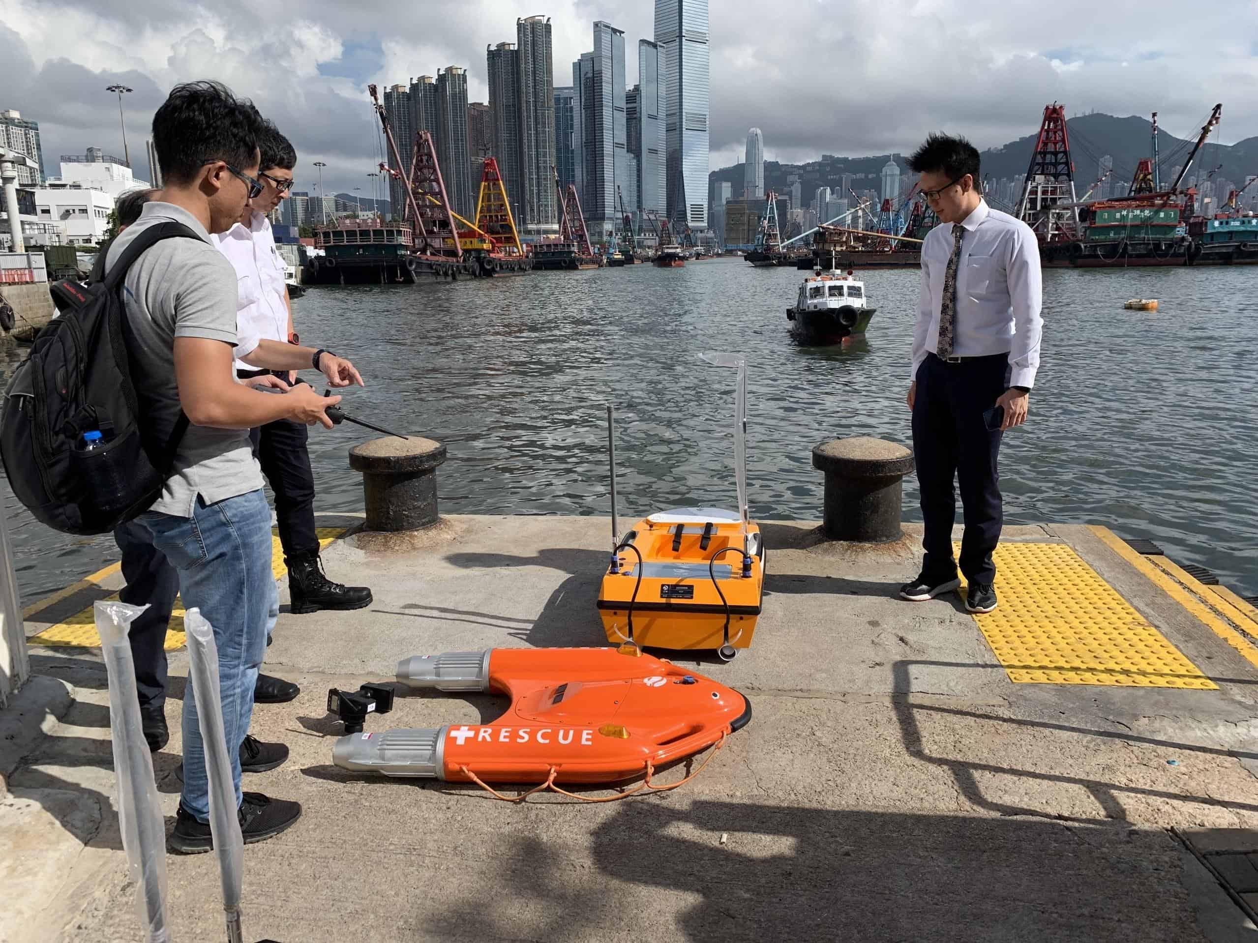 OceanAlpha Hong Kong maritime safety demo